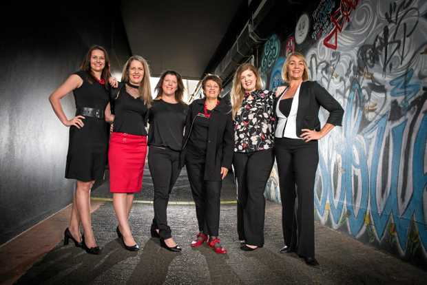 TEDx COMING: Organisers Avril Curtis, Annabel Dolphin, Holly Moore, Georgena Watt, Courtney Hansen and Kim Kleidon, along with Julie Boyd and Kelly Anderson (missing from image) will bring TEDx back to Mackay this year.