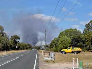 Smoke fills air on Fraser Coast