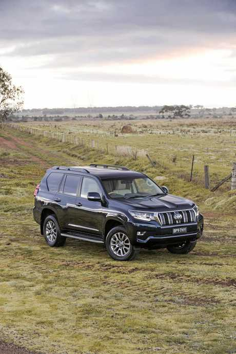 The 2018 Toyota Prado is expected to arrive in Australia by November.