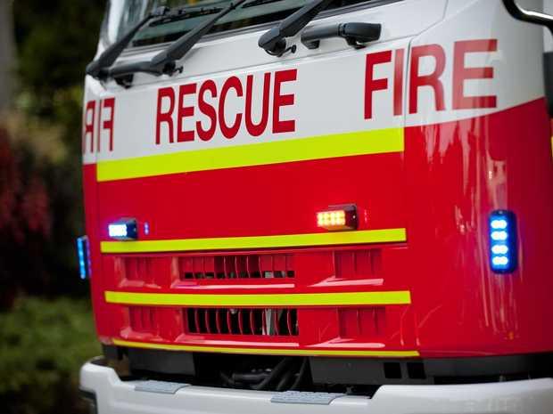 Fire crews race to Sarina fire.