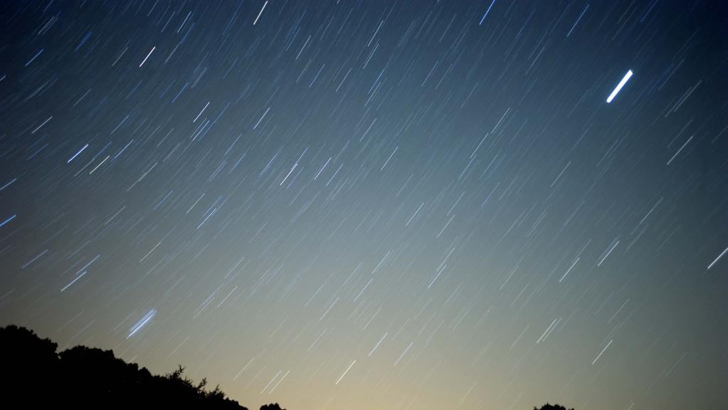 Some far north Queensland residents were worried about the possibility of a tsunami following a meteor shower, like this one captured in southern Spain in 2010.