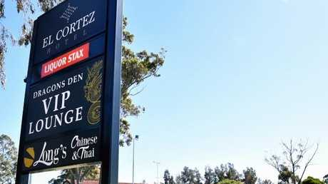 El Cortez, named after a Las Vegas casino, looks unassuming from the outside. But its 'Dragon Den' rakes in more pokies profits than any hotel in NSW. Picture: AAP Image/Joel CarrettSource:AAP