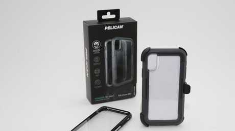 New iPhone case Pelican brand. Photo Adam Armstrong