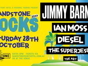 Australian rock line up of the year ft. Jimmy Barnes, Ian Moss, Diesel, The Superjesus and The Art!