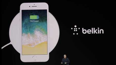 The new iPhones will feature wireless charging.
