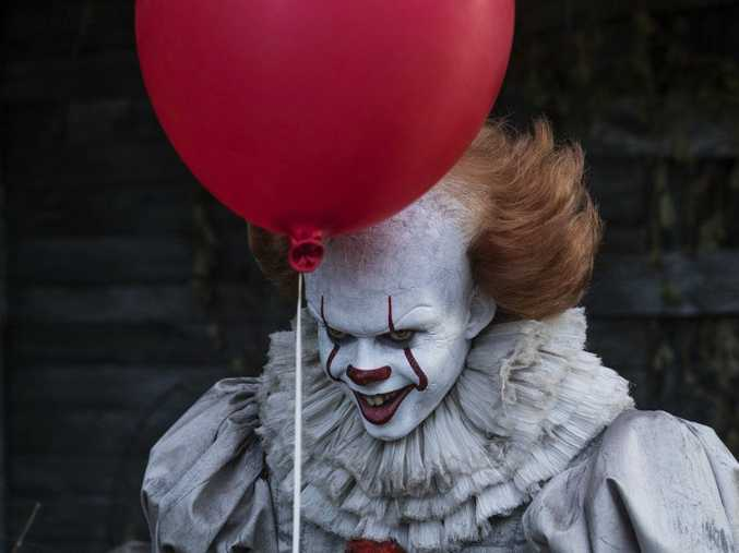 FOR REVIEW AND PREVIEW PURPOSES ONLYThis image released by Warner Bros. Pictures shows Bill Skarsgard in a scene from