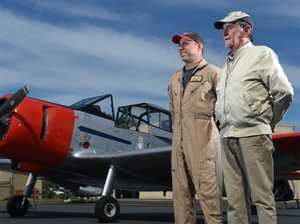 Ex-RAAF pilot enjoys being re-united with plane