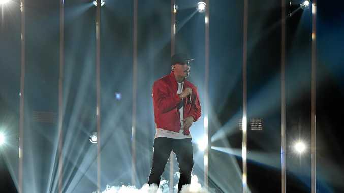 Australian hip hop artist ILLY