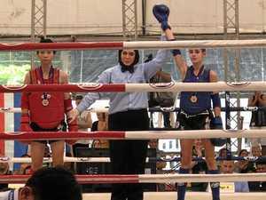 Erin's Muay Thai victory