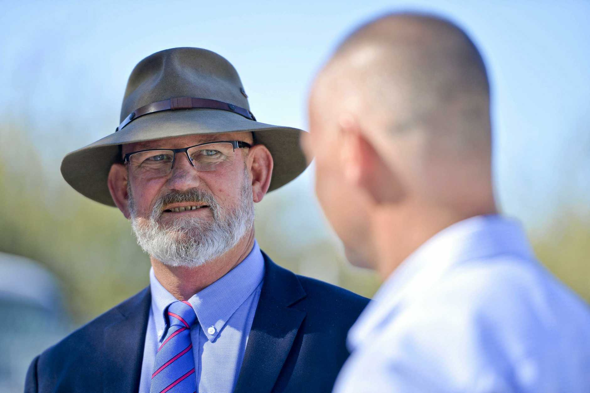 Rockhampton MP Bill Byrne has resigned from cabinet and will not contest the Rockhampton State seat at the next election.