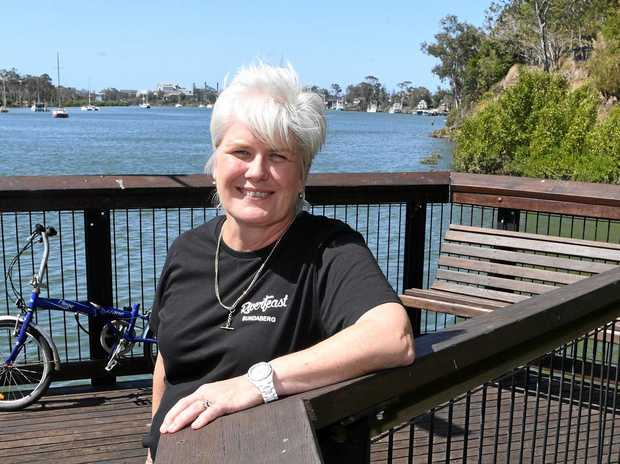 Riverfeast owner Karen Wittkopp is calling for the council to build a Riverwalk to connect East Bundaberg to Quay St.