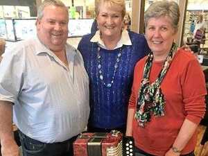 Accordion brings joy to grieving family