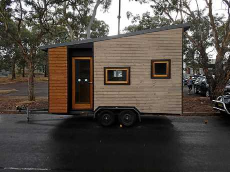 This 'tiny house' that was stolen in Canberra on Sunday night has been spotted in the Gympie region.