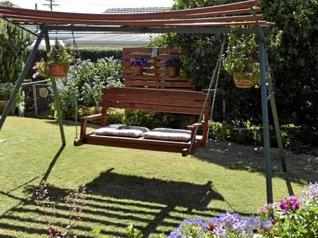 Mark and Cindy-Jane Ryan have made their garden as family-friendly as possible.
