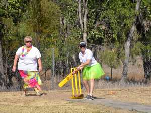 Cricket takes centre stage at family fun day