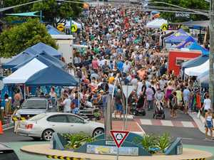 Yamba residents ready to feast on street