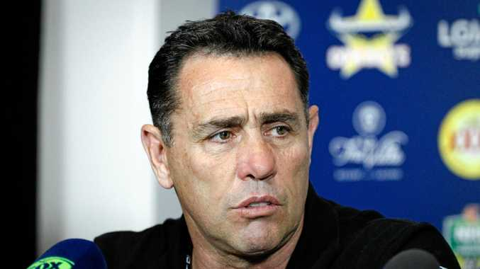 Standing up for the game ... Sharks coach Shane Flanagan