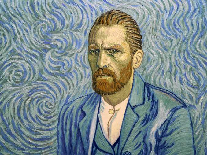 A scene from the movie Loving Vincent, the first ever fully painted feature film. Supplied by Madman Films.