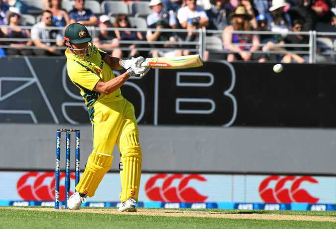 Marcus Stoinis top-scored for Australia against an Indian Board President's XI.