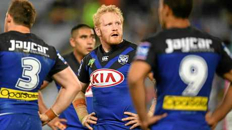 James Graham will move to the Dragons next season.
