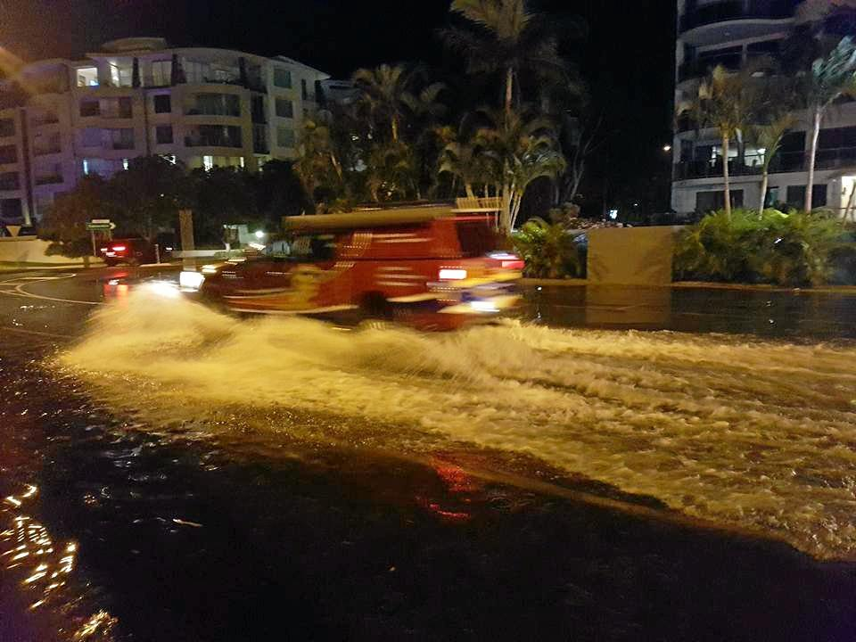 High tide in Mooloolaba two weeks ago may be a sign of what coastal communities can expect as climate change impacts increase.