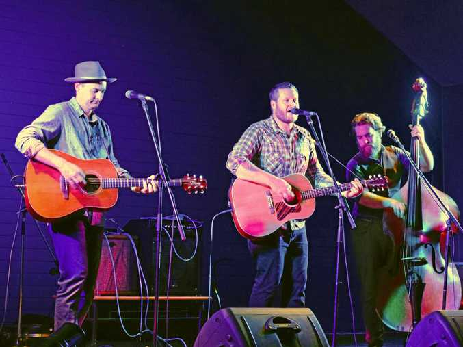 Paddy McHugh entertained crowds at the Nimbin Roots festival inside the Nimbin Hall in 2016.