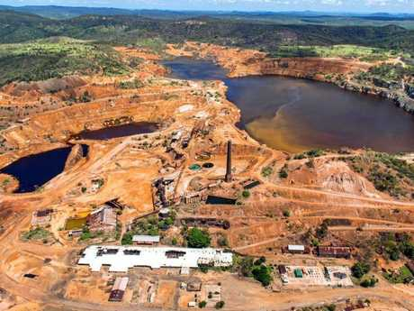 Carbine Resources' Mt Morgan mine.