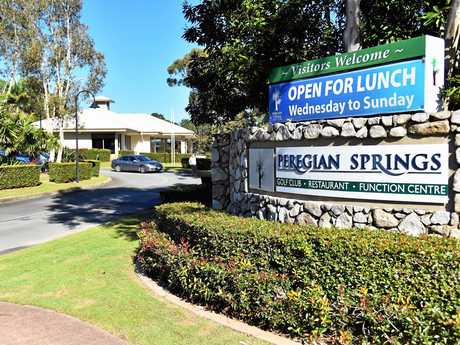 Peregian Springs Golf Club.