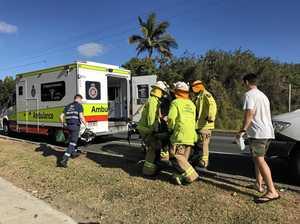 Multiple vehicles involved in Mackay crash