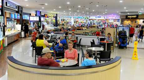 The Booval Fair foodcourt has been renovated.
