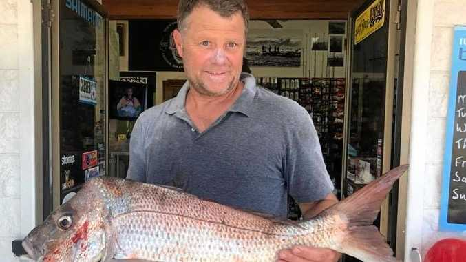A nice snapper caught at Woody Head this week by Andrew Lippits off Woody Head on pilchards.