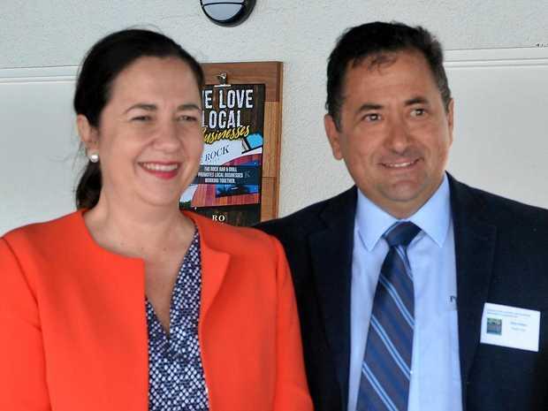 Premier Annastacia Palaszczuk and DarylSavage.