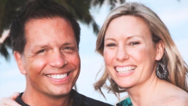 Australian woman Justine Damond and her fiance Don Damond. Picture: Nathan EdwardsSource:News Corp Australia