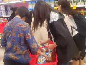 Baby formula madness: 'This happens every morning at Coles'