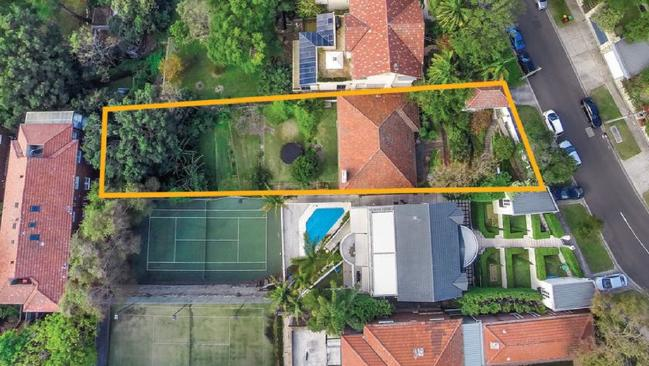 The property at Bundurra Rd, Bellevue Hill has approval for a major renovation. Picture: Raine & HorneSource:Supplied