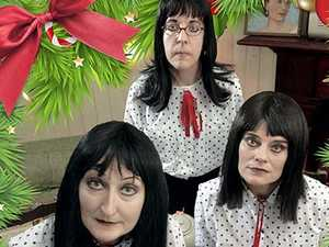 From Enya to Silent Night, Daft Punk to The Twelve Days Of Christmas, these dysfunctional sisters take family get-togethers to a new level.