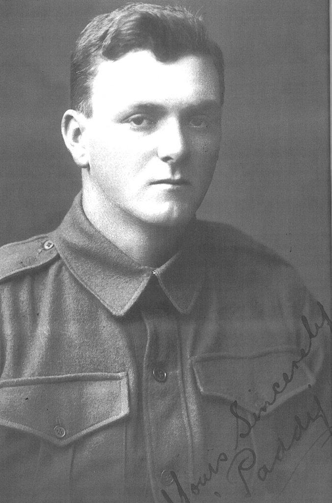 Paddy Bugden VC.