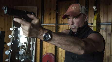 Michael Keaton in a scene from American Assassin.