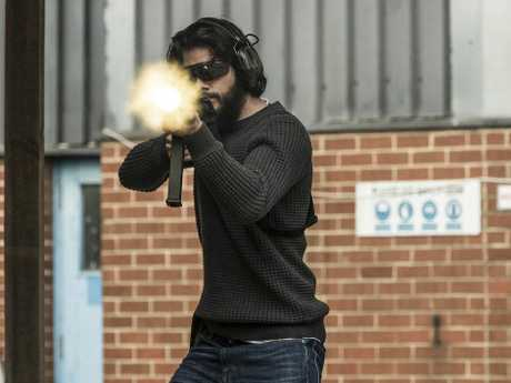 Dylan O'Brien in a scene from American Assassin.