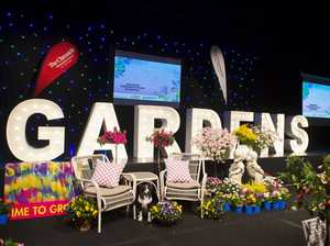 Garden competition award night