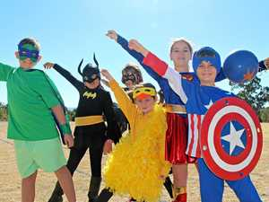Withcott superheroes dig deep for sick kids