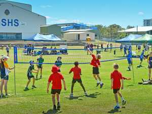 Junior volleyball carnival a smashing success