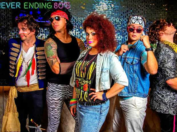 WILL IT EVER END: Don't miss the Never Ending 80s at the GDSC on Saturday night.