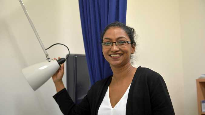 NEW TO TOWN: Dr Lisha Pollocks has come to Gladstone from Sri Lanka via Dubai to work.