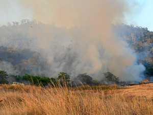 Update: Bushfire season has Rocky on high alert