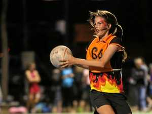 ON THE MOVE: Emma MacDonald from Fire Crackers who won the 13U grand final.