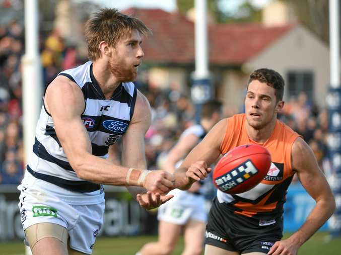Cats player Tom Lonergan (left) has written an open letter to his former self.
