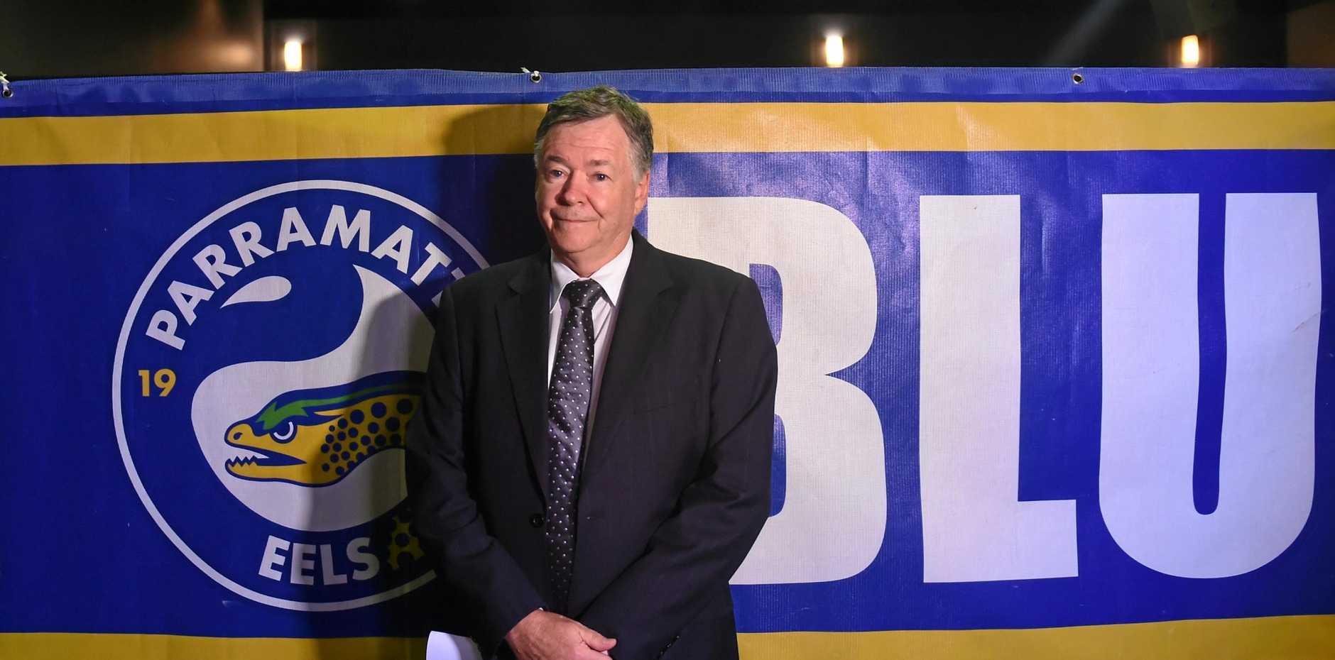Parramatta Leagues Club chairman Max Donnelly.