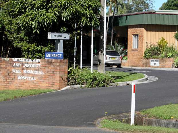 Mullumbimby Hospital. Photo Blainey Woodham / The Northern Star