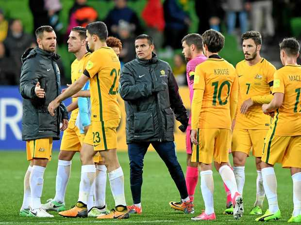 The Socceroos will play Syria in Malaysia next month.